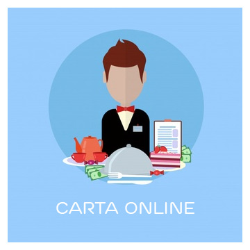Carta online para restaurantes